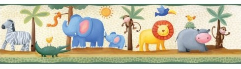 cenefas-infantiles-animales-selva